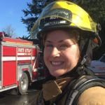 Firefighter Janelle Randles