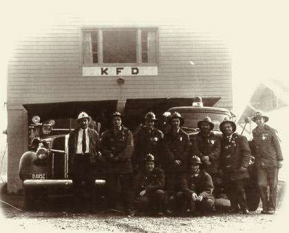 1960's photo of Kitsap County Fire District #10 in Kingston