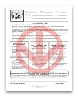 Universal Burning Permit - click to download